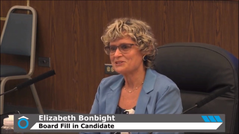 Newly appointed school board member interviews with Tacoma directors