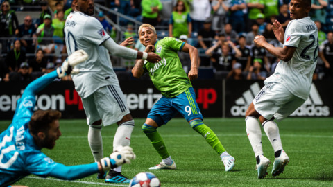 Raul Ruidiaz wants Sounders to play TFC with same 'rebellious attitude' that beat LAFC