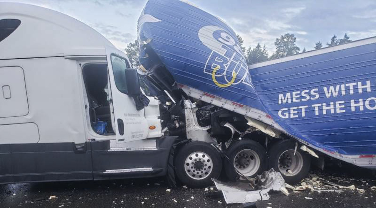 Milk, fish, a fatality and a massive traffic jam: How Friday's I-5 snarl paralyzed us