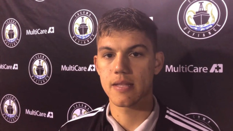 Tacoma Defiance's 19-year-old goalkeeper has been around, just not that long in goal