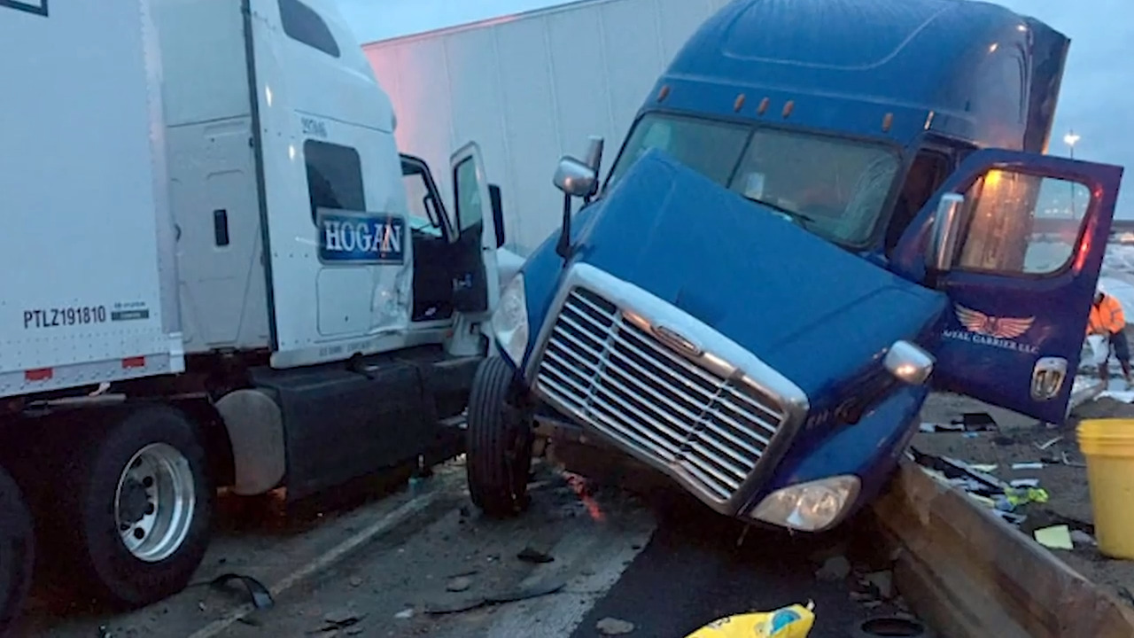 Frequent collisions prompt temporary I-5 speed reduction in