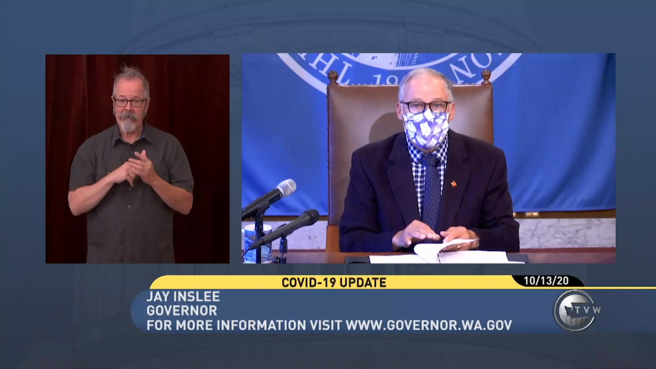 Watch: Gov. Jay Inslee to speak Tuesday about Washington state's COVID-19 response