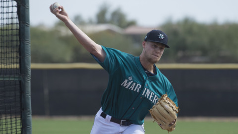 Mariners announce roster for player development fall league
