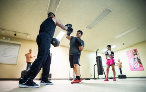 Free Hilltop boxing gym a safe place for kids