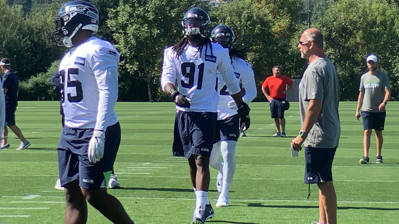 """The Seahawks' Jadeveon Clowney, Ziggy Ansah Effect: """"It just got real for other offenses"""""""