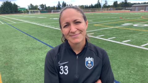 Reign FC lost a coach but gained a player when Steph Cox decided to come back to soccer