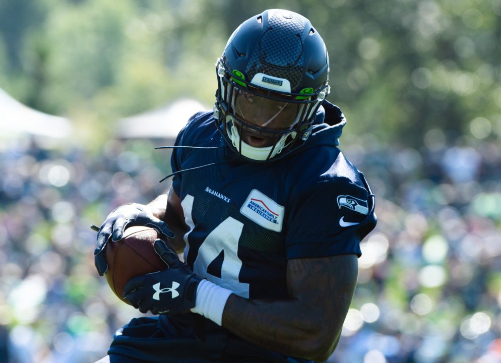 "Seahawks rookie DK Metcalf rehabbing from ""minimal"" surgery. Will he be ready for season?"