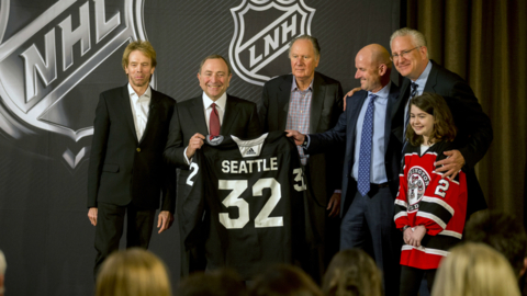 Hockey is coming to Seattle. NHL approves expansion to city starting in 2021-2022 season