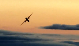 Errant path of stolen plane frightens local residents