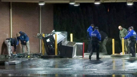 Possible ATM bombing suspect leads police on chase that ends in Tumwater