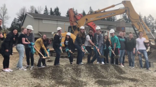 Construction begins on Bonney Lake High School Performing Arts Center