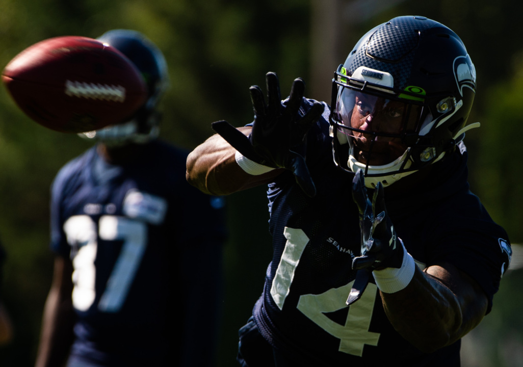 new concept 6d72d 97fcb Jarran Reed, Ethan Pocic ight at Seahawks camp | Tacoma News ...