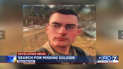 Mason County deputies lead search for missing JBLM soldier