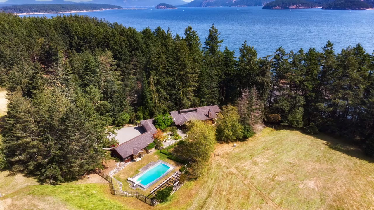 This private 39-acre slice of paradise on Lopez Island yours for $4.9 million