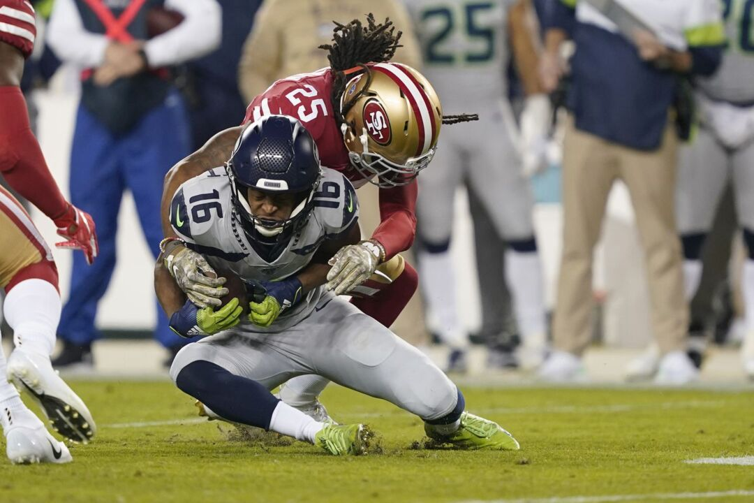 Tyler Lockett out of Bay Area hospital, flies home on Seahawks chair Jody Allen's jet