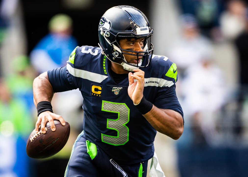 Wait ... Russell Wilson is using Google to prepare for his first game in Pittsburgh?