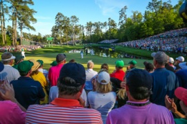 The biggest thrill at The Masters comes from sharing the experience