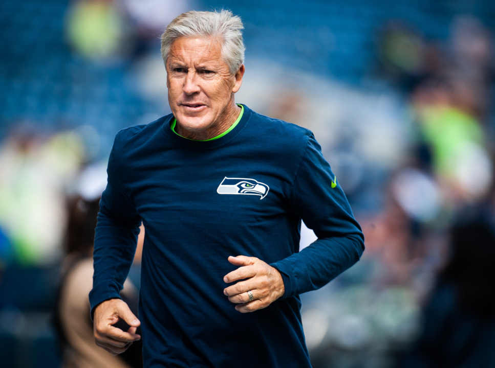Seahawks 'checked into' Antonio Brown before. Pete Carroll answers if they will now
