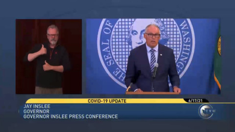Inslee announces new incentives for military who get the COVID-19 vaccine
