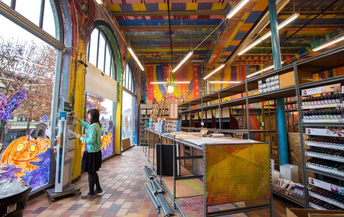 Tacoma Artists Have New Source For Supplies In Colorful Historic