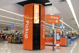 Walmart vending machine to get your online orders faster