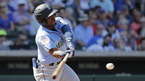 Mariners outfielder Kyle Lewis wants to keep his approach 'simple' during September call-up