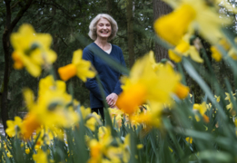 She planted 10,000 daffodils. Twenty eight years later, she's still planting.
