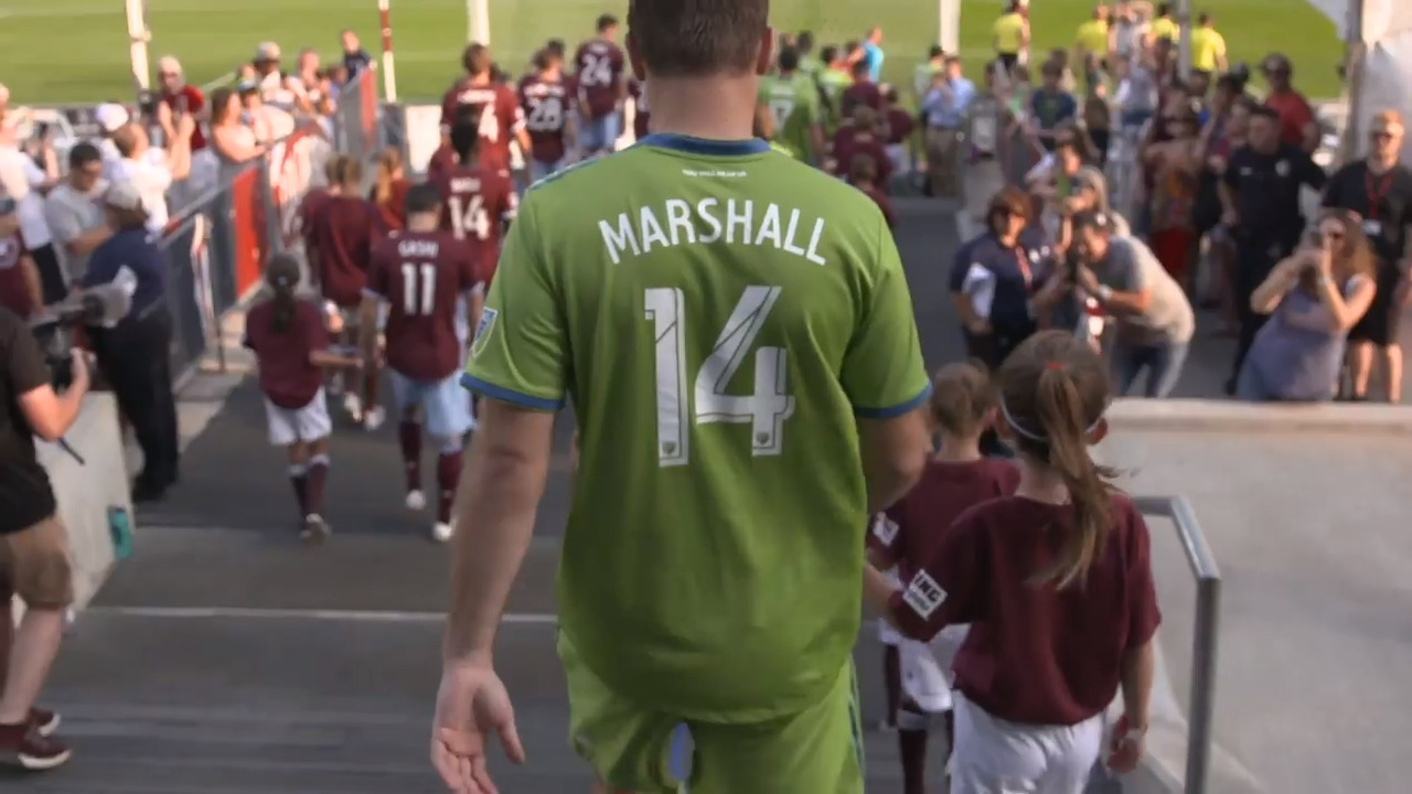 Seattle Sounders center back Marshall announces immediate retirement
