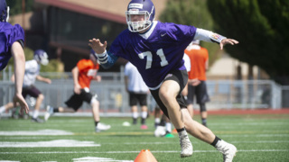 North Thurston OL/DL Kai Burgman and RB/DB Jace Marcott preview 2018 season