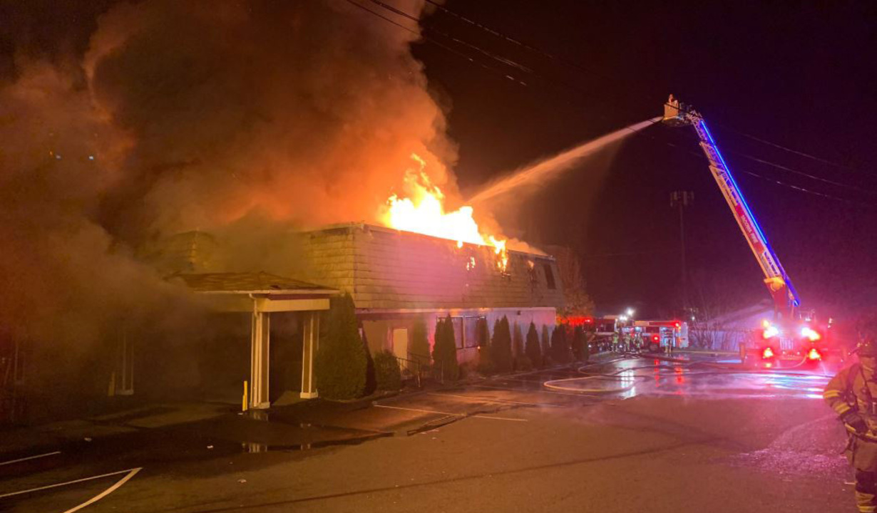 Arson ruled in 'stubborn' fire that destroyed Tacoma restaurant