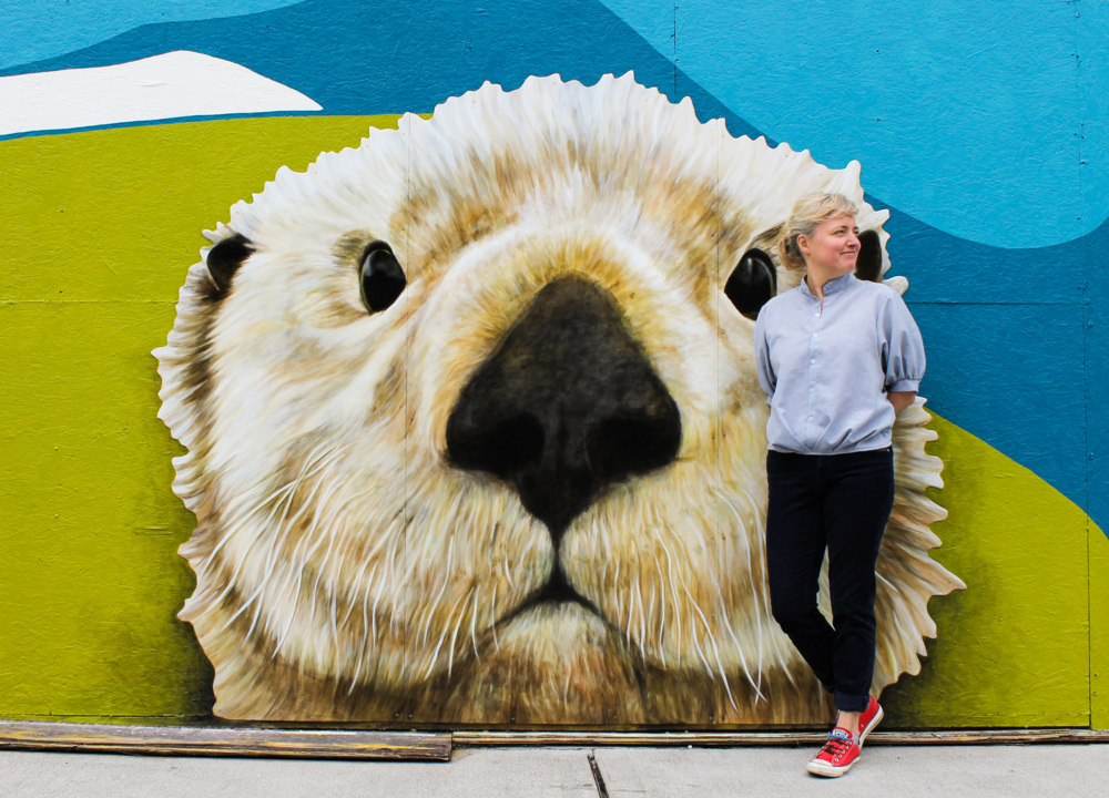 Have you seen the big bear in downtown Tacoma?