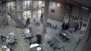 Brawl at Chicago prison leads to charges for 16 inmates