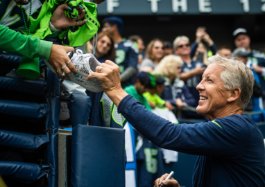 Pete Carroll expects a return to the traditional, rugged Steelers Sunday—and appreciates Seahawks' stability at the top