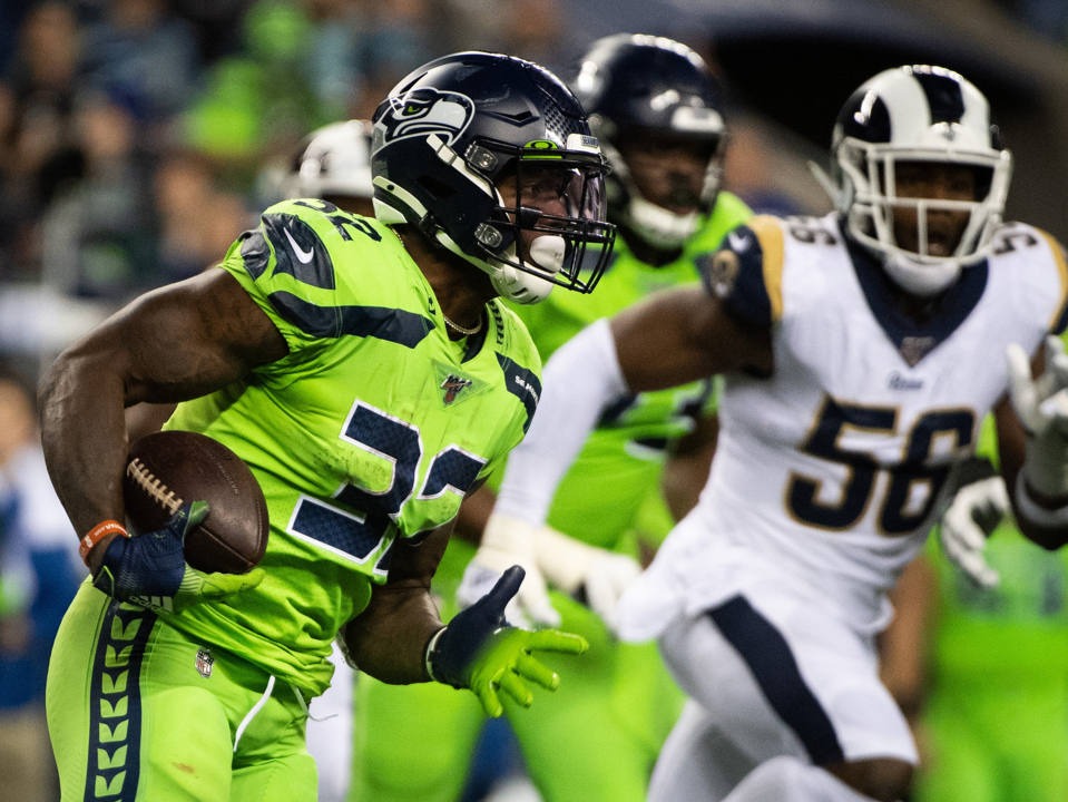 Carson S Td Catch Lifts Seahawks Past Rams Tacoma News Tribune
