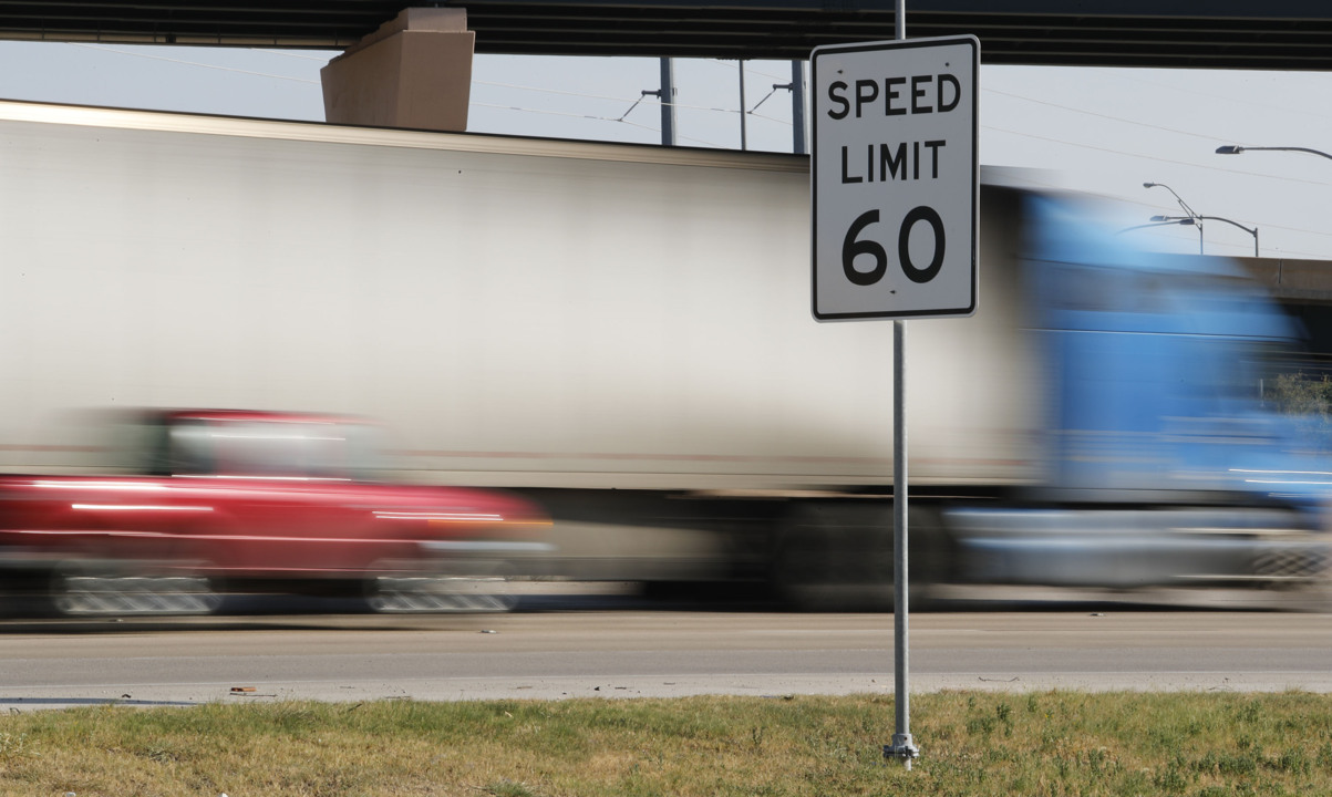 Texas speeding tickets reveal the state's fastest drivers