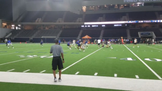 The Opening: Aledo's Jase McClellan accelerates by defenders