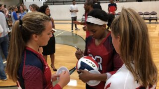 Fort Worth area players shine in volleyball all star game