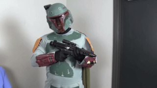 Watch as Boba Fett helps Fort Worth police catch a few 'criminals'