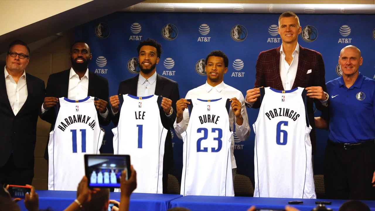 4170f3cf97d The Mavericks can change basketball for the better with their new Super  Euro Duo