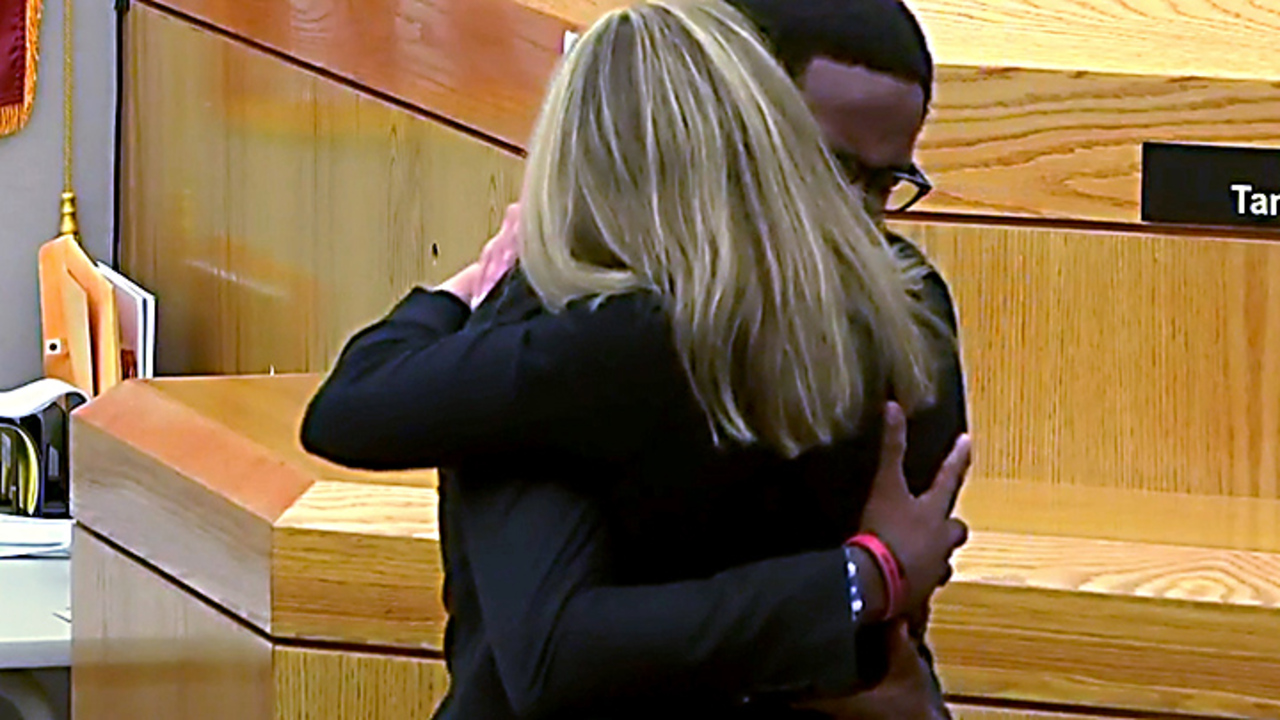 Like Brandt Jean hugging ex-cop Amber Guyger, my family knows the comfort of forgiving
