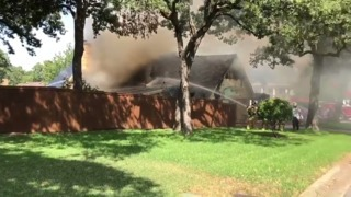 House fire in North Richland Hills