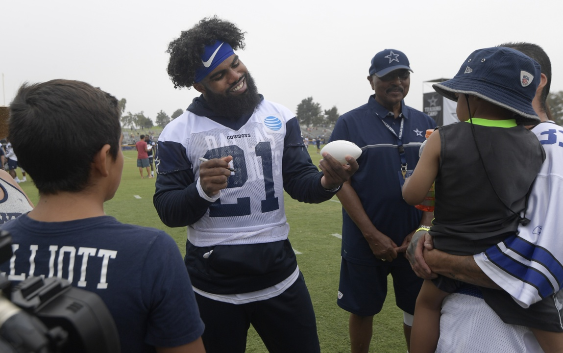 eb9a542f910 Dallas Cowboys fans get a chance to show their love at Training Camp | Fort  Worth Star-Telegram