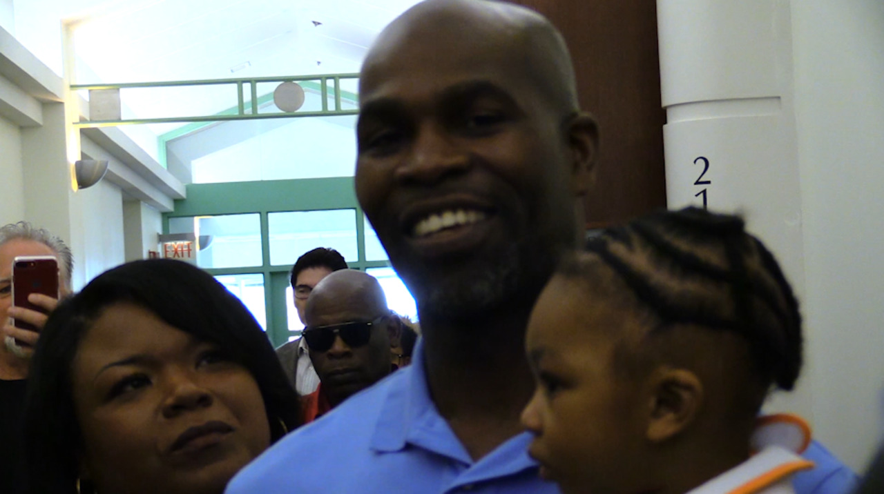 Video: John Nolley says he feels just blessed after being