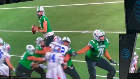 Ohio State commit throws touchdown pass for Southlake Carroll in state title game