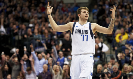 Luka Doncic on his 11-point outburst to beat the Rockets