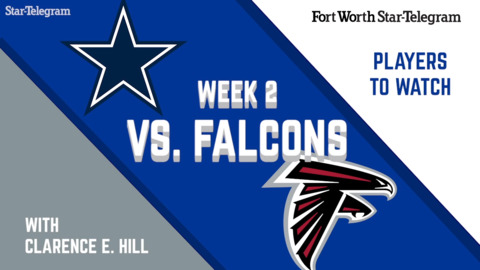 Week 2 Players To Watch: Cowboys vs. Falcons