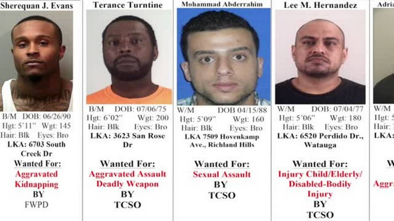 Tarrant County's 10 Most Wanted Criminals, August 9