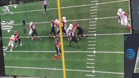 Alabama commit turns short gain into big touchdown in state title game