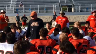 Highlights from Aledo's spring football game