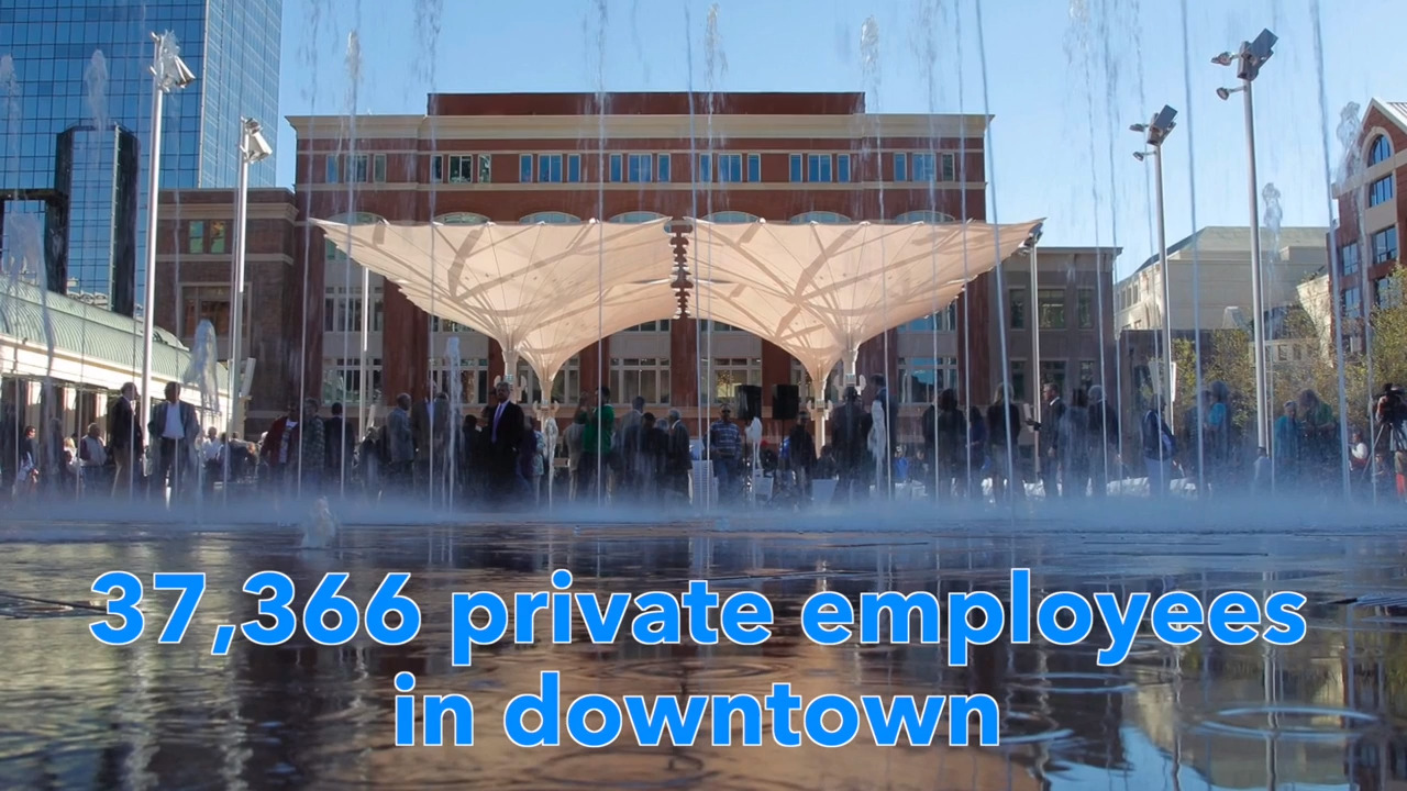 After XTO, who are downtown Fort Worth's biggest employers?